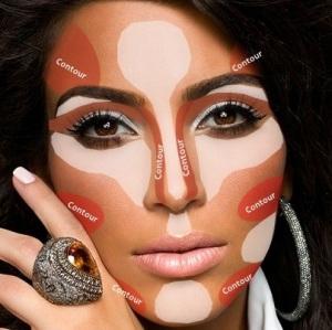Kim-Kardashian-Contouring-Makeup-Guide-Pinterest-11