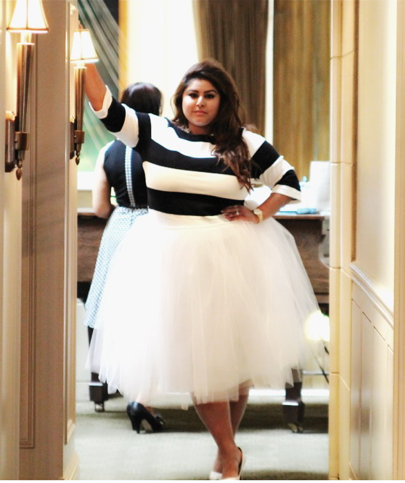 Midi Tutu Skirt Designed By Anisa Haq Hand Made My SIL Shakira Synon Top Old Navy Shoes Shoedazzle Watch And Purse Kate Spade